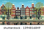 A Street In Amsterdam With...