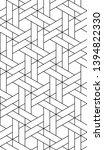 vector seamless pattern. modern ...   Shutterstock .eps vector #1394822330
