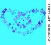 rhombus ornate minimal... | Shutterstock .eps vector #1394822696