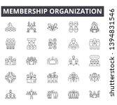 membership organization line... | Shutterstock .eps vector #1394831546