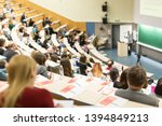 conference and presentation....   Shutterstock . vector #1394849213