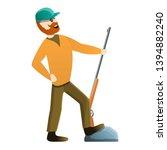 hunter win the prize icon....   Shutterstock .eps vector #1394882240