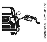 petrol car fill icon. simple... | Shutterstock .eps vector #1394884670