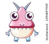 monster horns icon. cartoon of... | Shutterstock .eps vector #1394897939