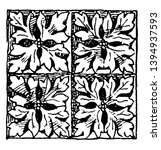 gothic architecture diaper... | Shutterstock .eps vector #1394937593
