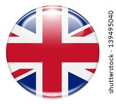 british flag button isolated on ... | Shutterstock . vector #139495040
