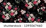 flower print.elegance seampless ... | Shutterstock .eps vector #1395067460