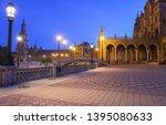 spain square  plaza de espana... | Shutterstock . vector #1395080633