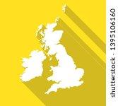 united kingdom great britain uk ... | Shutterstock .eps vector #1395106160