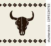 Vector Black Skulls Buffalo ...