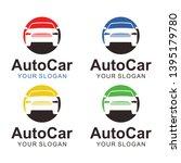 auto car logo template design   Shutterstock .eps vector #1395179780
