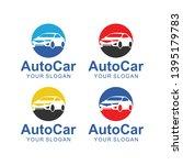 auto car logo template design   Shutterstock .eps vector #1395179783