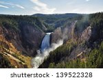 Lower Falls  Yellowstone...