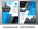 business brochure. flyer design.... | Shutterstock .eps vector #1395239840