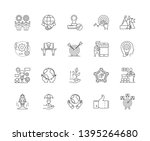 improvement line icons  signs ...   Shutterstock .eps vector #1395264680