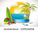 surfing time   Shutterstock .eps vector #139526858