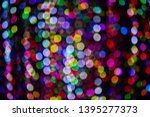 abstract bokeh light background ... | Shutterstock . vector #1395277373