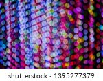 abstract bokeh light background ... | Shutterstock . vector #1395277379