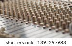 sound mixer board. sound mixing ... | Shutterstock . vector #1395297683