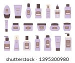 set of different cosmetic...   Shutterstock .eps vector #1395300980