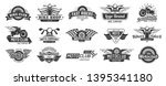 biker club emblems. retro... | Shutterstock .eps vector #1395341180