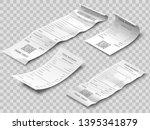 isometric financial check.... | Shutterstock .eps vector #1395341879