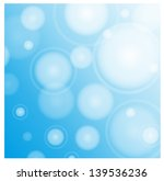 blue abstract vector background | Shutterstock .eps vector #139536236
