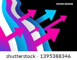 vector business background with ...   Shutterstock .eps vector #1395388346