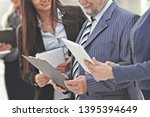 close up.business team with... | Shutterstock . vector #1395394649