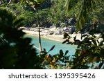 selective focus  stunning view ... | Shutterstock . vector #1395395426