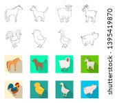 vector design of breeding and... | Shutterstock .eps vector #1395419870