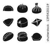 vector design of cuisine  and... | Shutterstock .eps vector #1395420119