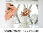 elegant reflection of a... | Shutterstock . vector #139543838