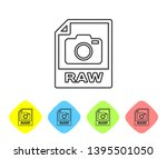 grey raw file document icon....   Shutterstock .eps vector #1395501050