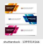 modern banner design with...   Shutterstock .eps vector #1395514166