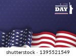 4th of july happy independence... | Shutterstock .eps vector #1395521549