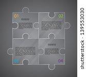 infographic template. eps10... | Shutterstock .eps vector #139553030
