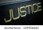 justice sign  | Shutterstock . vector #139556663