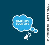 simplify your life banner  ...