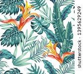 trendy seamless vector pattern...   Shutterstock .eps vector #1395629249