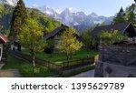 mitteldorf   virgen  austria ... | Shutterstock . vector #1395629789
