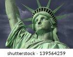 New York's Statue Of Liberty...