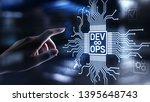 devops agile development and...   Shutterstock . vector #1395648743