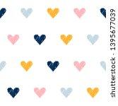 abstract handmade seamless... | Shutterstock . vector #1395677039