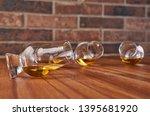 composition of whisky glasses... | Shutterstock . vector #1395681920
