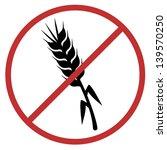 no gluten | Shutterstock .eps vector #139570250