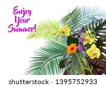 templates for vacation... | Shutterstock .eps vector #1395752933