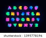 Vector Liquid Amoeba Font....