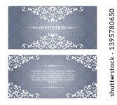 vector set elegant banner ...   Shutterstock .eps vector #1395780650