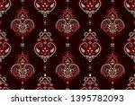 seamless pattern based on... | Shutterstock .eps vector #1395782093